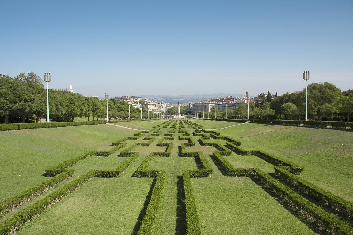 Vista dal Belvedere di Parque Edoardo VII