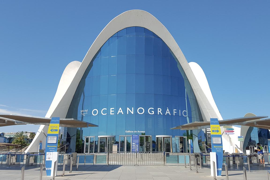 Esterno dell'Oceanogràfic
