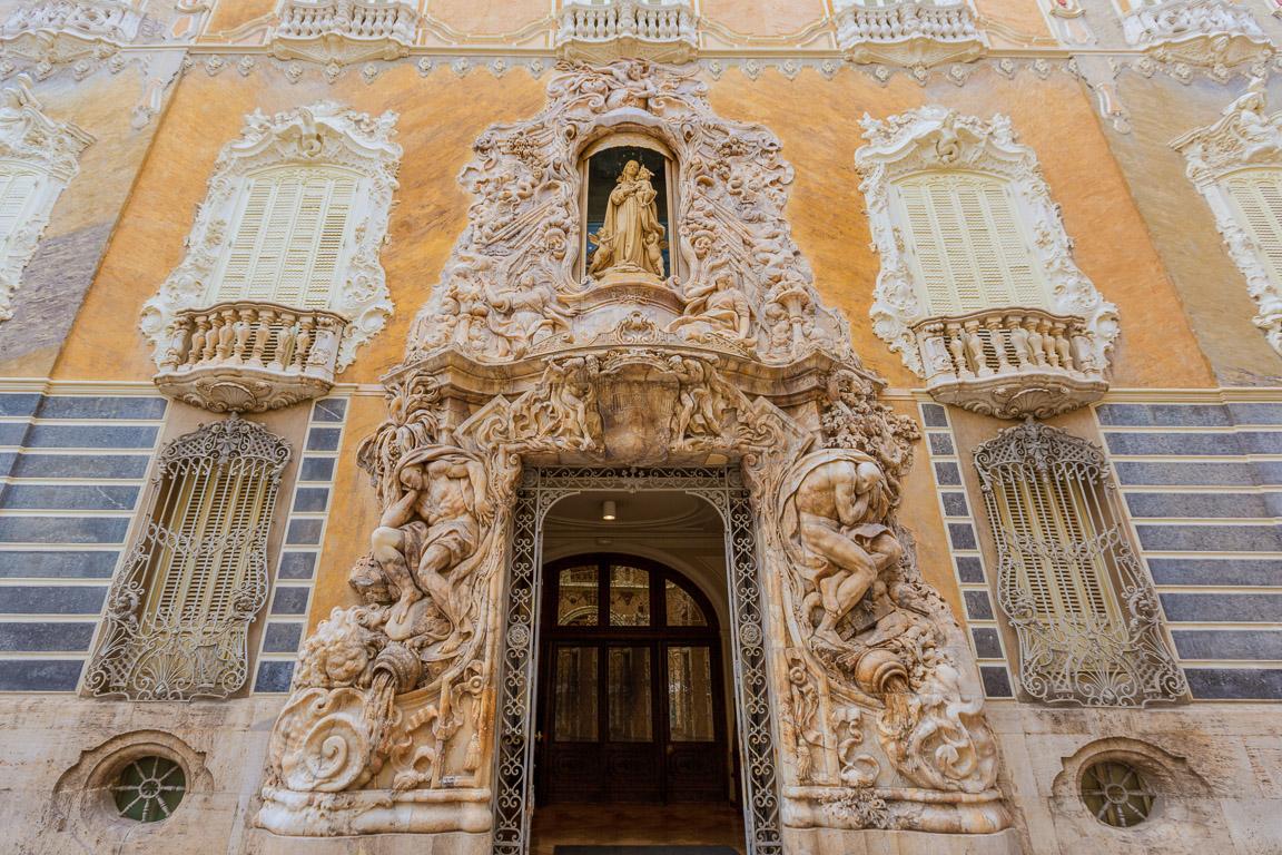 Ingresso del Palazzo del Marqués de dos Aguas