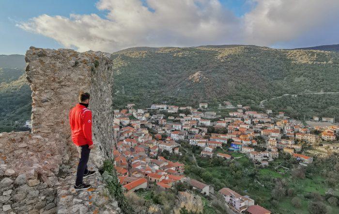 Vista dal Castello di Burgos