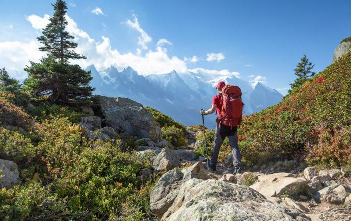 Esperienze attive in Italia: trekking alle pendici del Monte Bianco