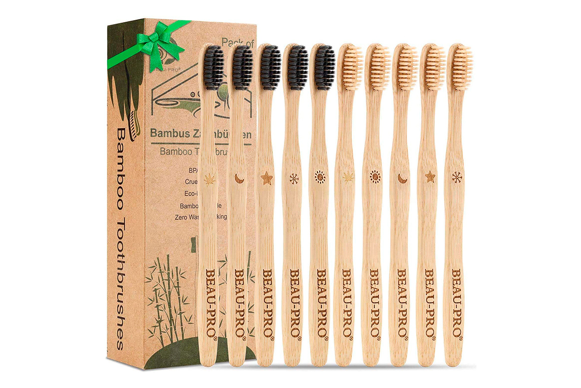 Regali eco-friendly: spazzolini in bambù