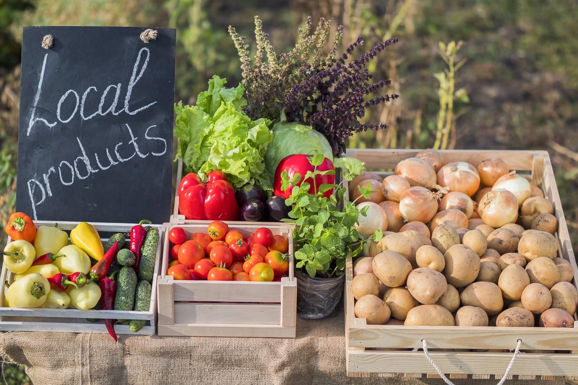 Acquistare prodotti locali
